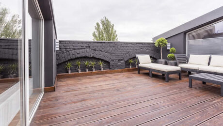 patio deck space